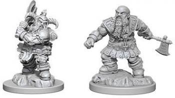 Nolzur's Marvelous Miniatures Dwarf Barbarian