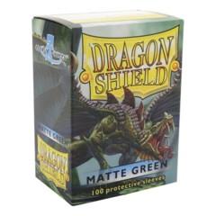 Dragon Shield Sleeves 100ct Matt Green