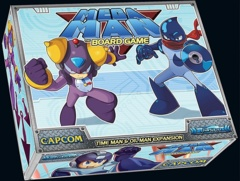 Mega Man: The Board Game Time Man and Oil Man Expansion