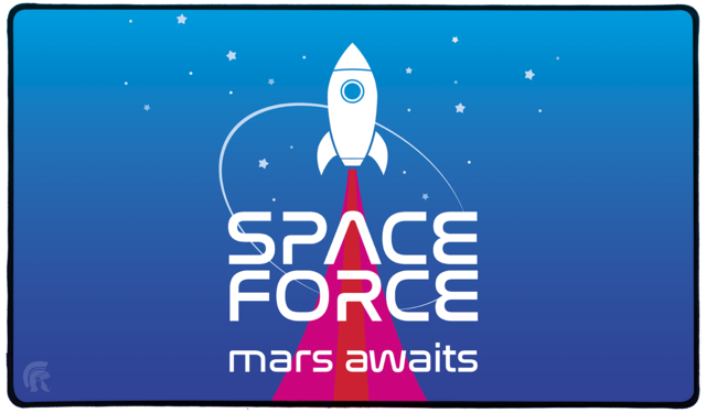 Space Force Playmat