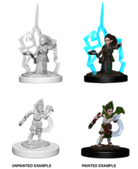 Pathfinder Deep Cuts Unpainted Miniatures: Gnome Female Druid
