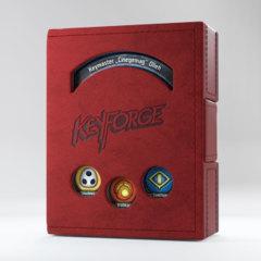 Red Keyforge Deck Book