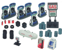 4D Gas Station