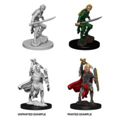 Dungeons And Dragons: Nolzur's Marvelous Unpainted Miniatures - Female Elf Fighter