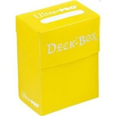 Ultra Pro Deck Box Yellow (82476)