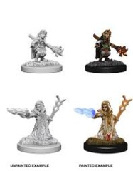 Nolzur's Marvelous Miniatures Female Gnome Wizard