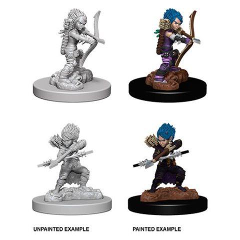 Deep Cuts Unpainted Miniatures - Female Gnome Rogue