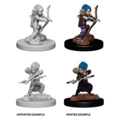 Deep Cuts Unpainted Miniatures - Female Gnome Rogue