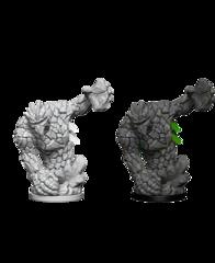Pathfinder Deep Cuts Unpainted Miniatures: Medium Earth Elementals