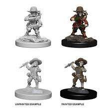 Deep Cuts Unpainted Miniatures - Male Halfling Rogue
