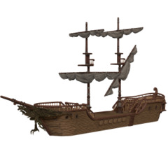 D&D Icons of the Realms: The Falling Star Ship