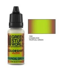 Colorshift Metal Tropical Green