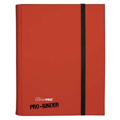 Ultra Pro 9 Pocket Pro Binder Red