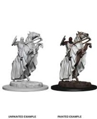 Pathfinder Deep Cuts Unpainted Miniatures: Knight on Horse
