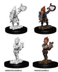 Pathfinder Deep Cuts Unpainted Miniatures: Gnome Male Bard