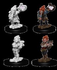 Pathfinder Deep Cuts Unpainted Miniatures: Gnome Male Bard