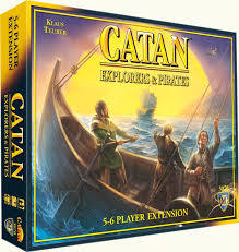 Settlers of Catan: Explorers & Pirates 5-6 Player Expansion