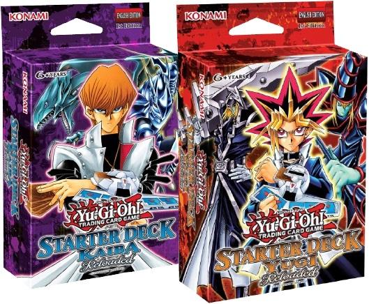Yu-Gi-Oh TCG Yugi Or Kaiba Reloaded Starter Deck