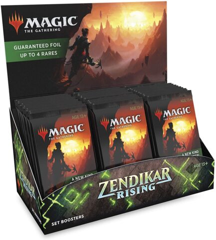Zendikar Rising Set Booster Pack Display (30 Packs)