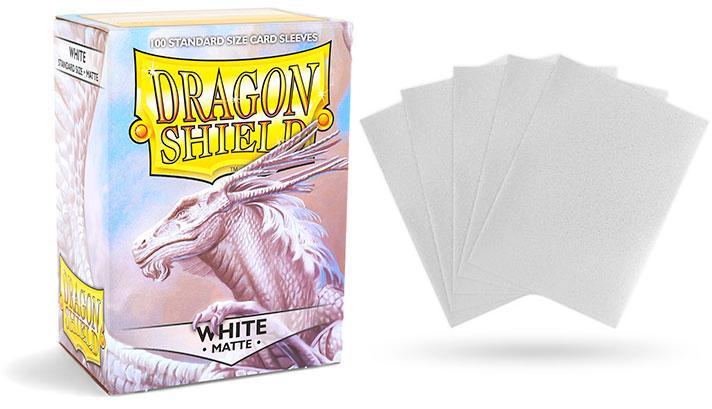 Dragon Shield 100 Count Box - Matte White