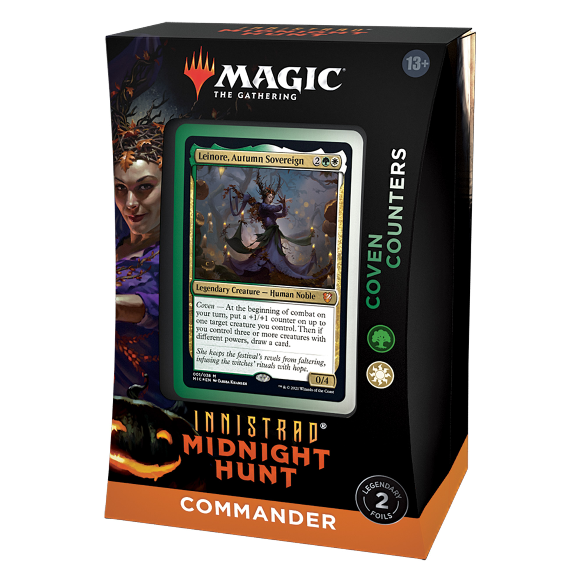 Innistrad: Midnight Hunt Commander Deck: Coven Counters
