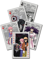 Future Diary (Mirai Nikki) Group Playing Cards