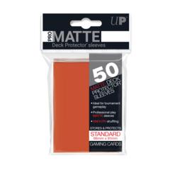 Ultra PRO 50 Count Pack Standard PRO-Matte Deck Protectors - Peach