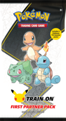 25th Anniversary First Partner Pack - Kanto Starters