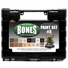Reaper Bones Ultra Coverage Paint Set #3