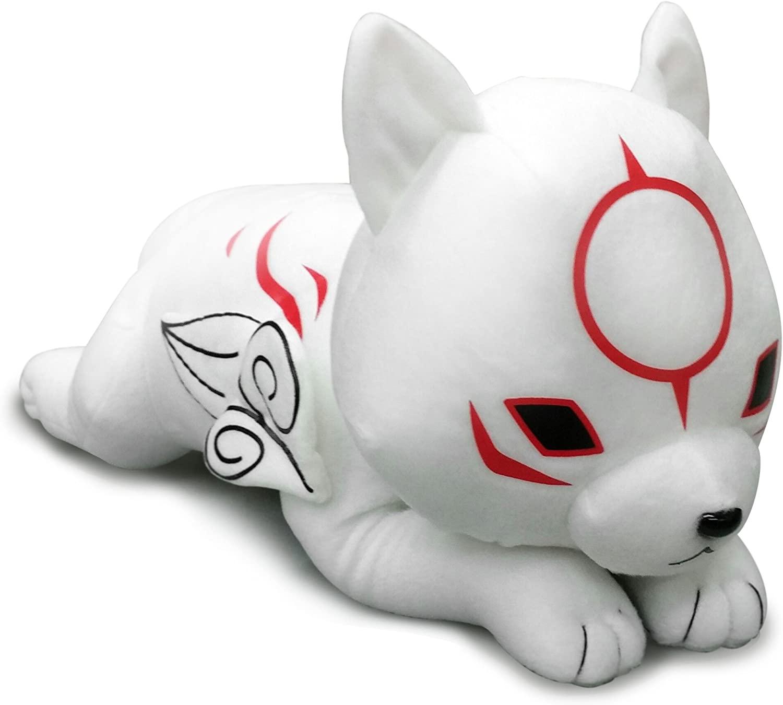 Okami-Den - Chibiterasu laying 20 Plush