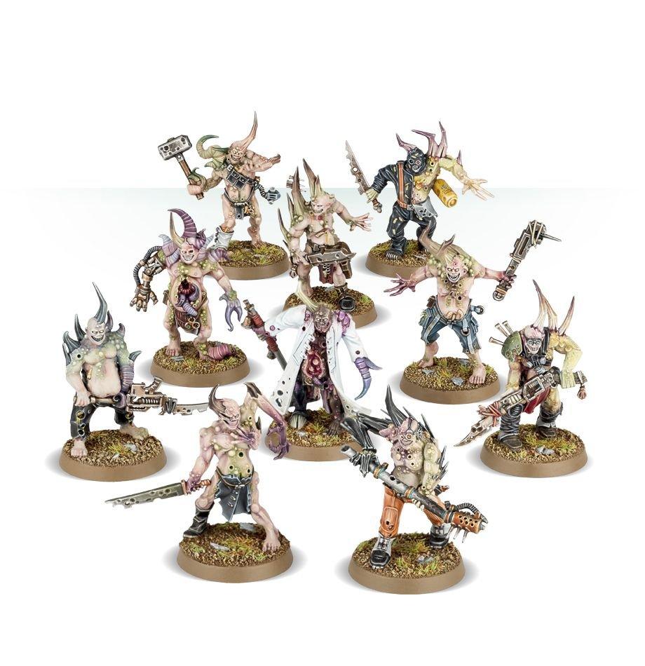 Death Guard: Poxwalkers