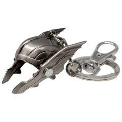 Thor 3D Helmet Pewter Key Ring