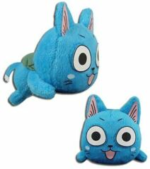 Fairy Tail - Happy Laying Down Plush, 4-inches
