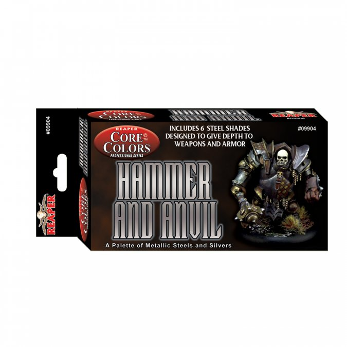 Reaper Core Colors Fast Palette: Hammer and Anvil