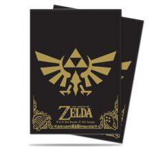 Ultra PRO 65 Count Standard Deck Protector - The Legend of Zelda: Hyrule Crest