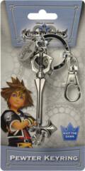 Kingdom Hearts Sleeping Lion Keyblade Pewter Key Ring
