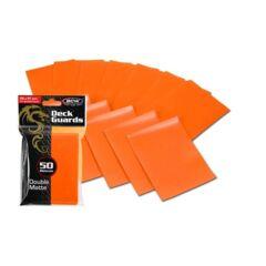 BCW Deck Guard Double Matte Sleeves - Orange
