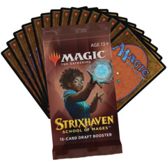 Strixhaven: School of Mages Draft Booster Pack