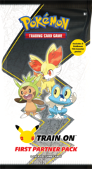 25th Anniversary First Partner Pack - Kalos Starters