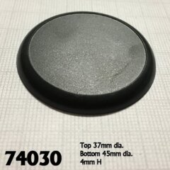 Reaper Base Boss: 45mm Round Gaming Base - Each
