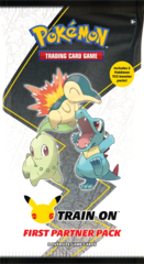 25th Anniversary First Partner Pack - Johto Starters
