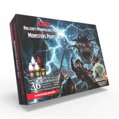Dungeons and Dragons Monster Paint Set