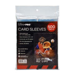 Ultra PRO 500 Count Pack Standard Size Soft Card Sleeves (Penny Sleeves)