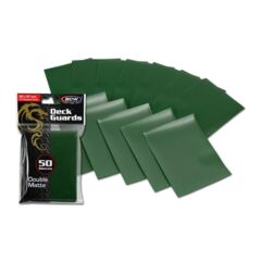 BCW Deck Guard Double Matte Sleeves - Green