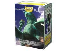 Dragon Shield 100 Count Box - Matte Art - Dragon of Liberty