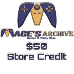 $50 Virtual Gift Card - Account Credit