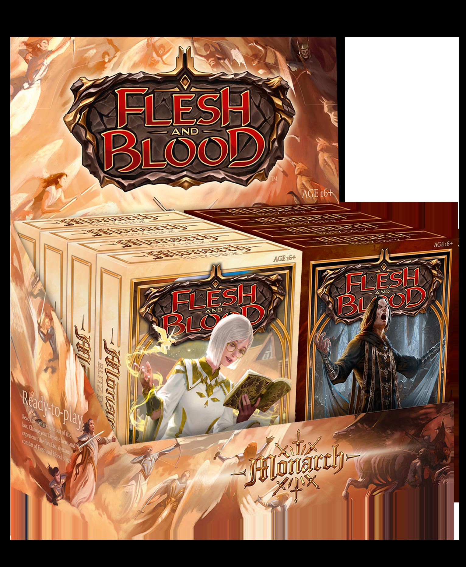 Monarch Blitz Decks - Complete set of 4