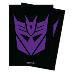 100ct Transformers TCG Sleeves - Decepticons