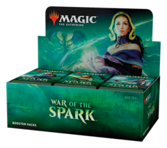 War of the Spark Booster Box (Buy-A-Box Promo NOT Included. Ship out May 3rd.)