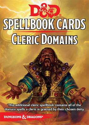 Dungeons & Dragons 5e: Spellbook Cards - Cleric Domains - Role